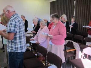 Perry Baptist Church Congregation