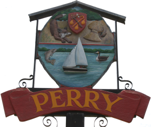 Perry Village sign